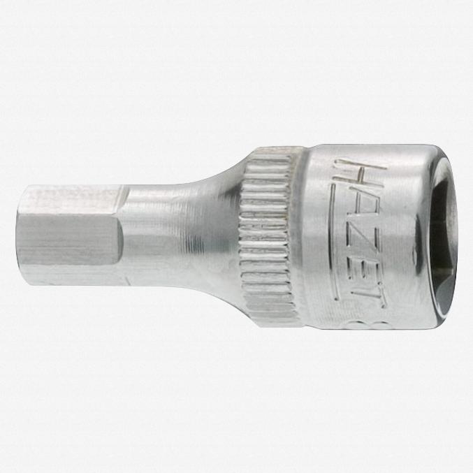 """Hazet 8501X-5 5mm Hex Stainless Bit Socket 1/4"""" - KC Tool"""