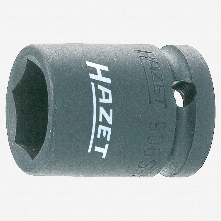 "Hazet 900S-15 Impact socket (6-point) 15mm x 1/2"" - KC Tool"