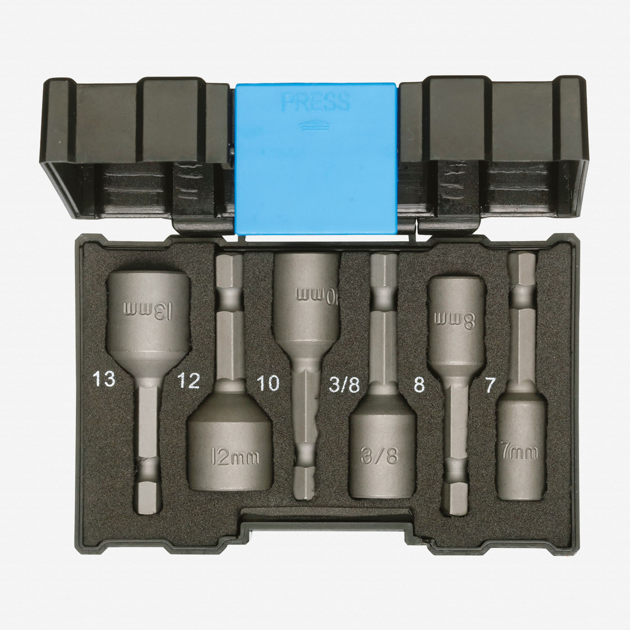 Gedore 666-006 Bit Box Nut Setter Set - KC Tool