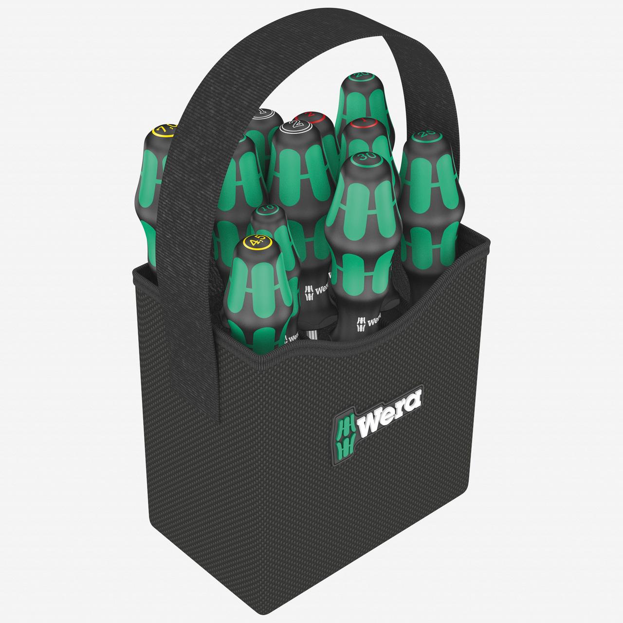 Wera 004313 2go 300 Kraftform Screwdriver Set with Tool Quiver - KC Tool
