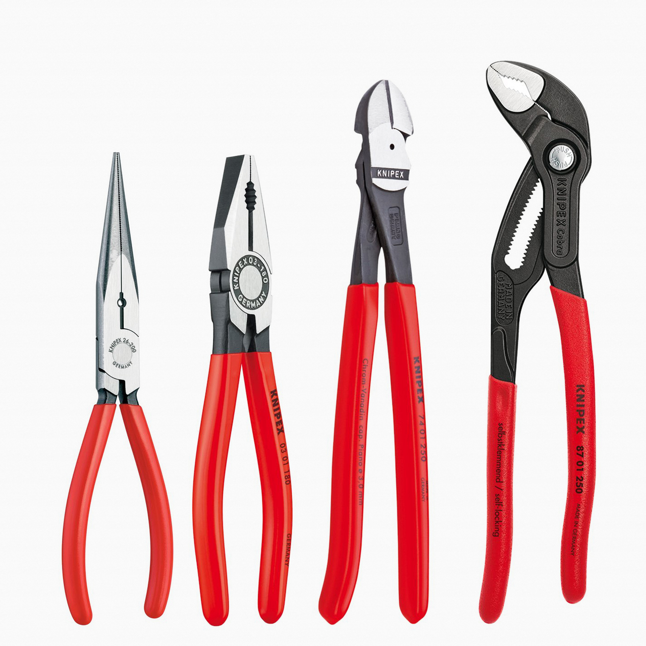Knipex 9K-00-80-94-US 4 Pc Pliers and Cutter Set - KC Tool