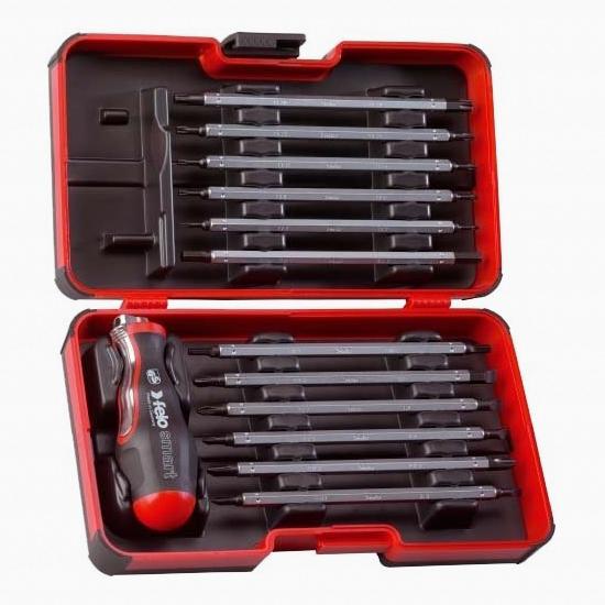 Felo 60413 Smart 13 Piece Blade Set - PH/PZ/Hex/Torx - KC Tool