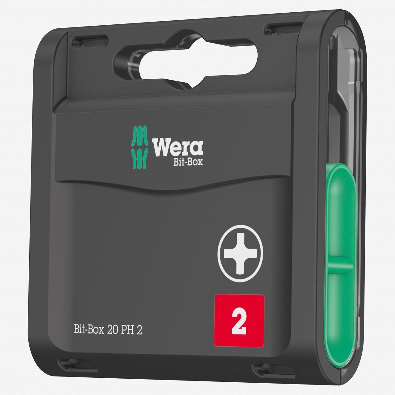 Wera 057750 Bit-Box 20 PH Phillips #2 - KC Tool