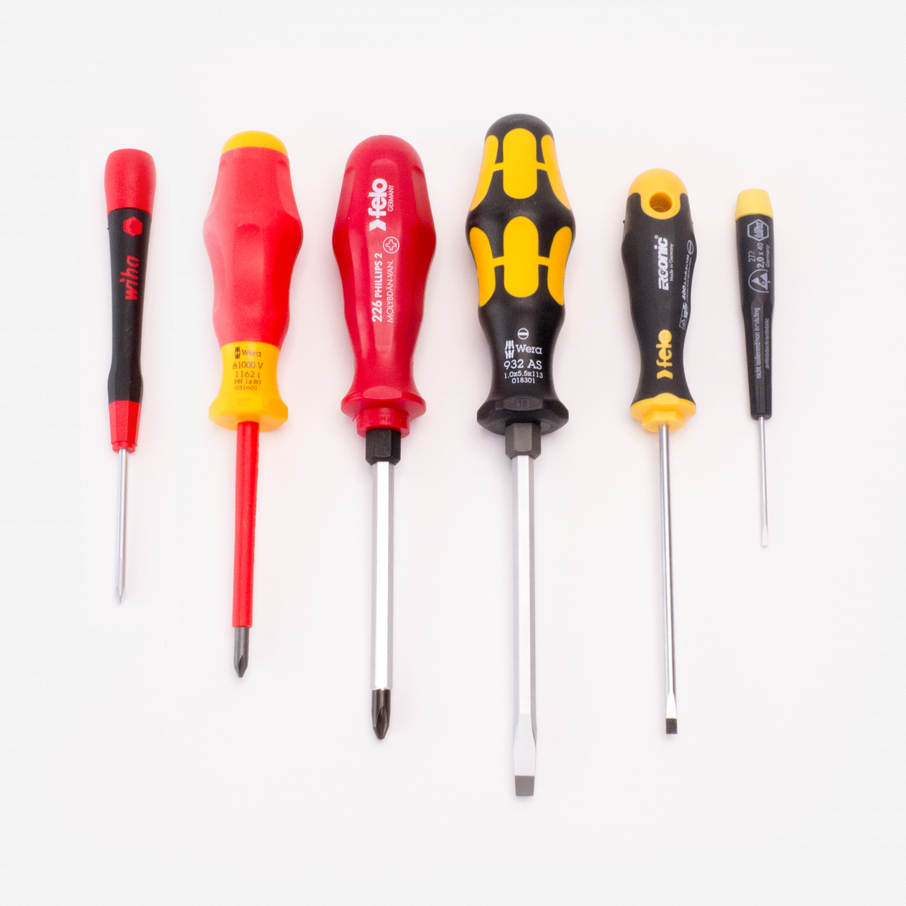 Derek's Versatile Screwdriver Set - KC Tool