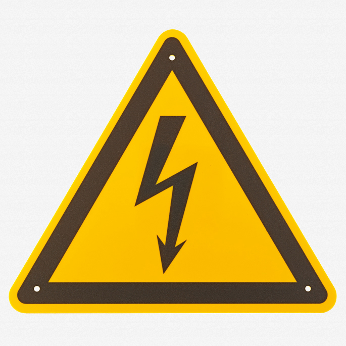 Stahlwille 12192 VDE Warning sign - KC Tool