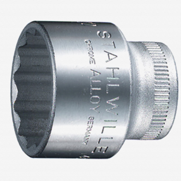 """Stahlwille 45a 3/8"""" 12-pt Socket, 11/16"""" - KC Tool"""