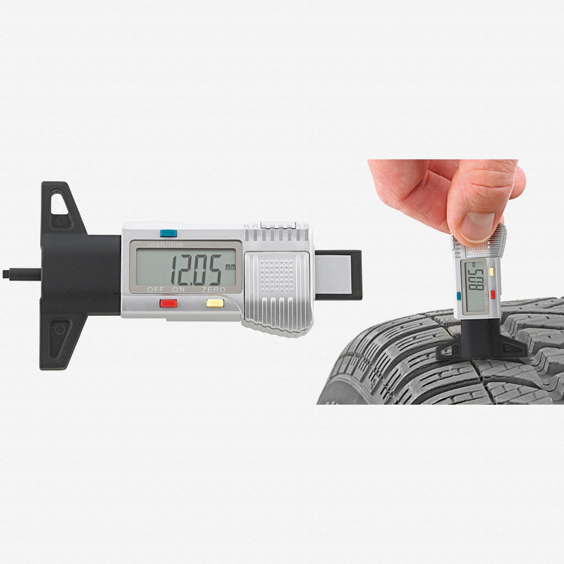 Stahlwille 12900/4 Electronic tire-tread Vernier gauge - KC Tool