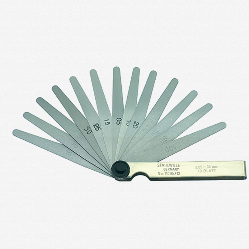 Stahlwille 11095/20 Precision Feeler Gauge 0.05 - 1.00mm - KC Tool