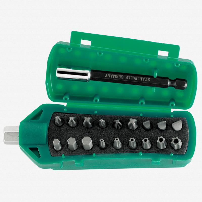 Stahlwille 1201 BITS Box Insert Bit Set - KC Tool