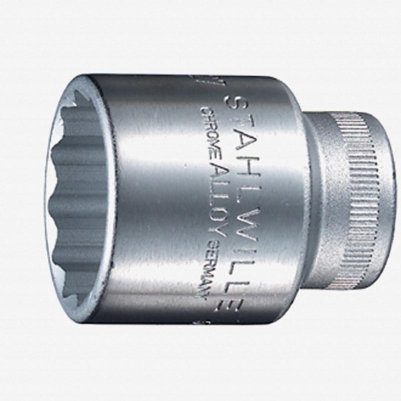 """Stahlwille 50a 1/2"""" 12-pt Socket, 1 3/8"""" - KC Tool"""