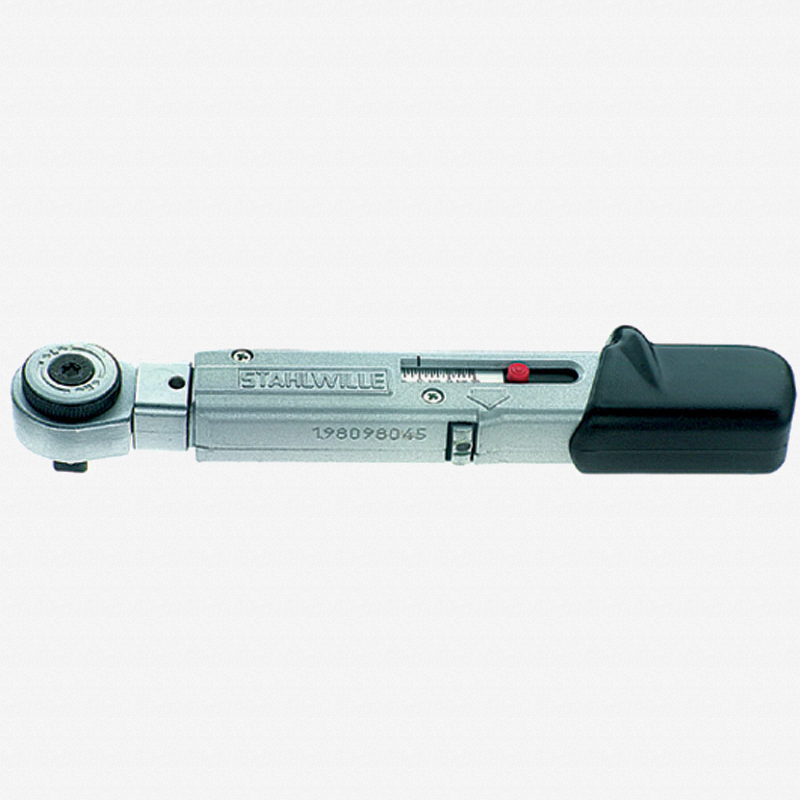 """Stahlwille 730R/2 SERVICE-MANOSKOP 3/8"""" torque wrench, 4-20 Nm - KC Tool"""