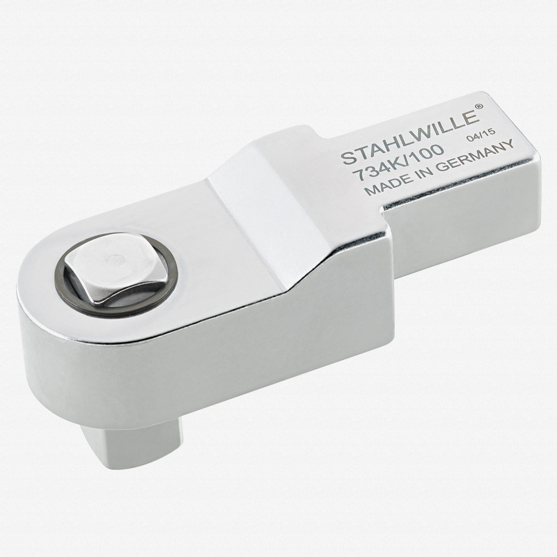 """Stahlwille 734K Calibrating 3/4"""" square drive insert tools, size 100, 22x28 mm - KC Tool"""
