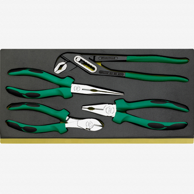 Stahlwille TCS 6501-6602/4 Set of pliers in TCS inlay - KC Tool