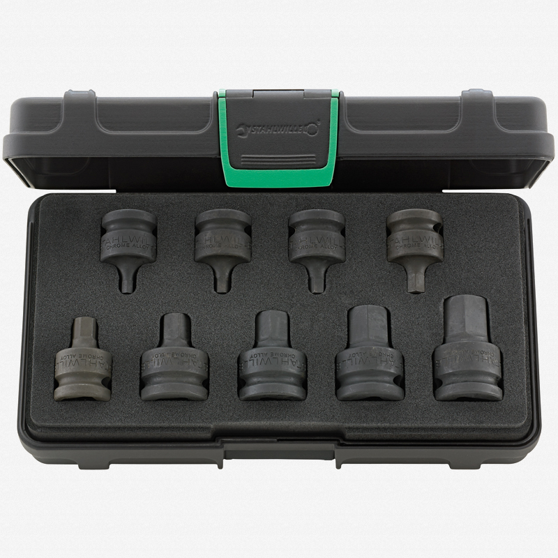 821a2472f08f6 Stahlwille 54IMP 9 Impact Hex Socket Set - KC Tool