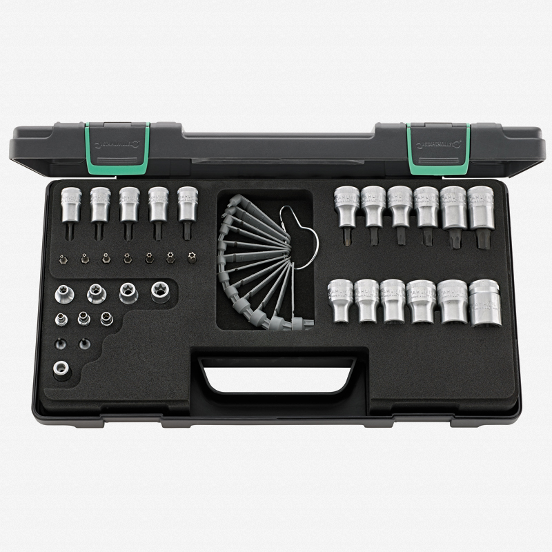 "Stahlwille 89TX Torx Socket Set 1/4"", 3/8"", 1/2"" - KC Tool"