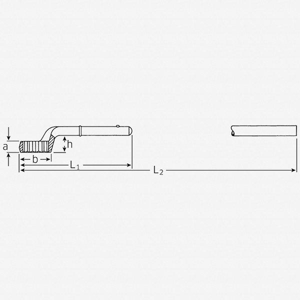 Stahlwille 5 Heavy duty ring Spanner, 85 mm - KC Tool