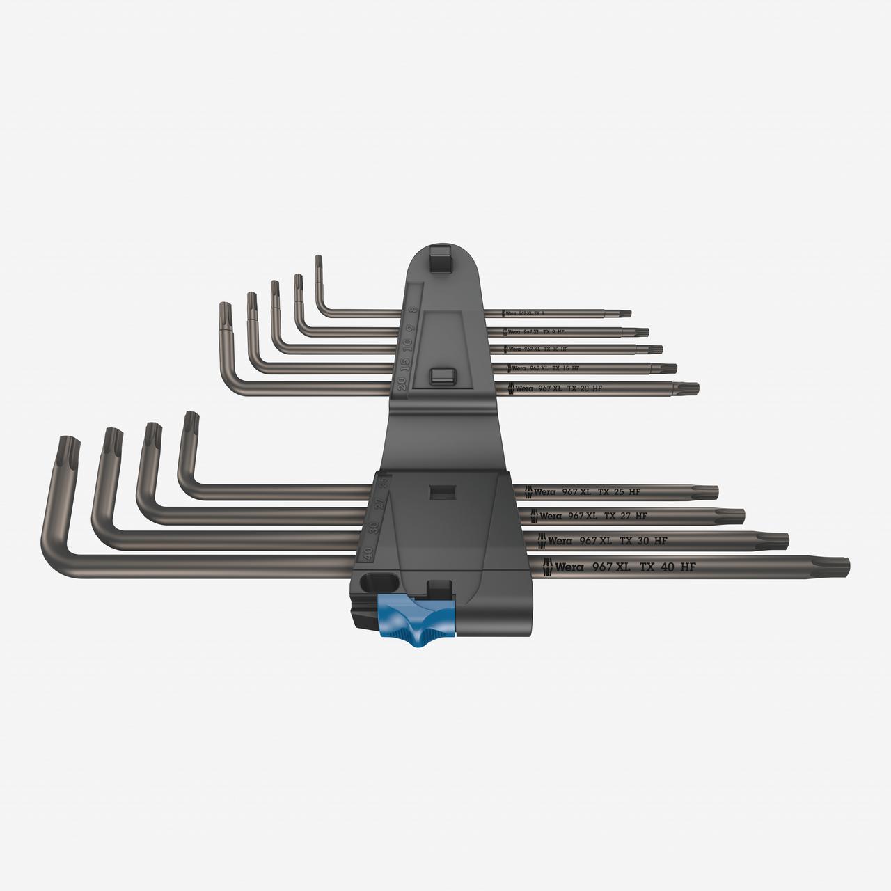 Wera 024450 967/9 TX XL 1 L-key Set with Holding Function, Long - KC Tool