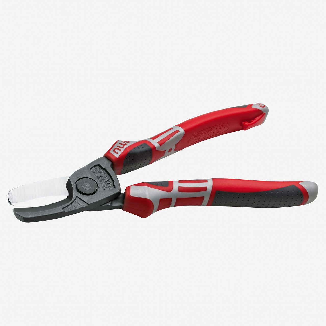 """NWS 042-69-210 8.25"""" Flat Cable Cutter - TitanFinish - SoftGripp - KC Tool"""