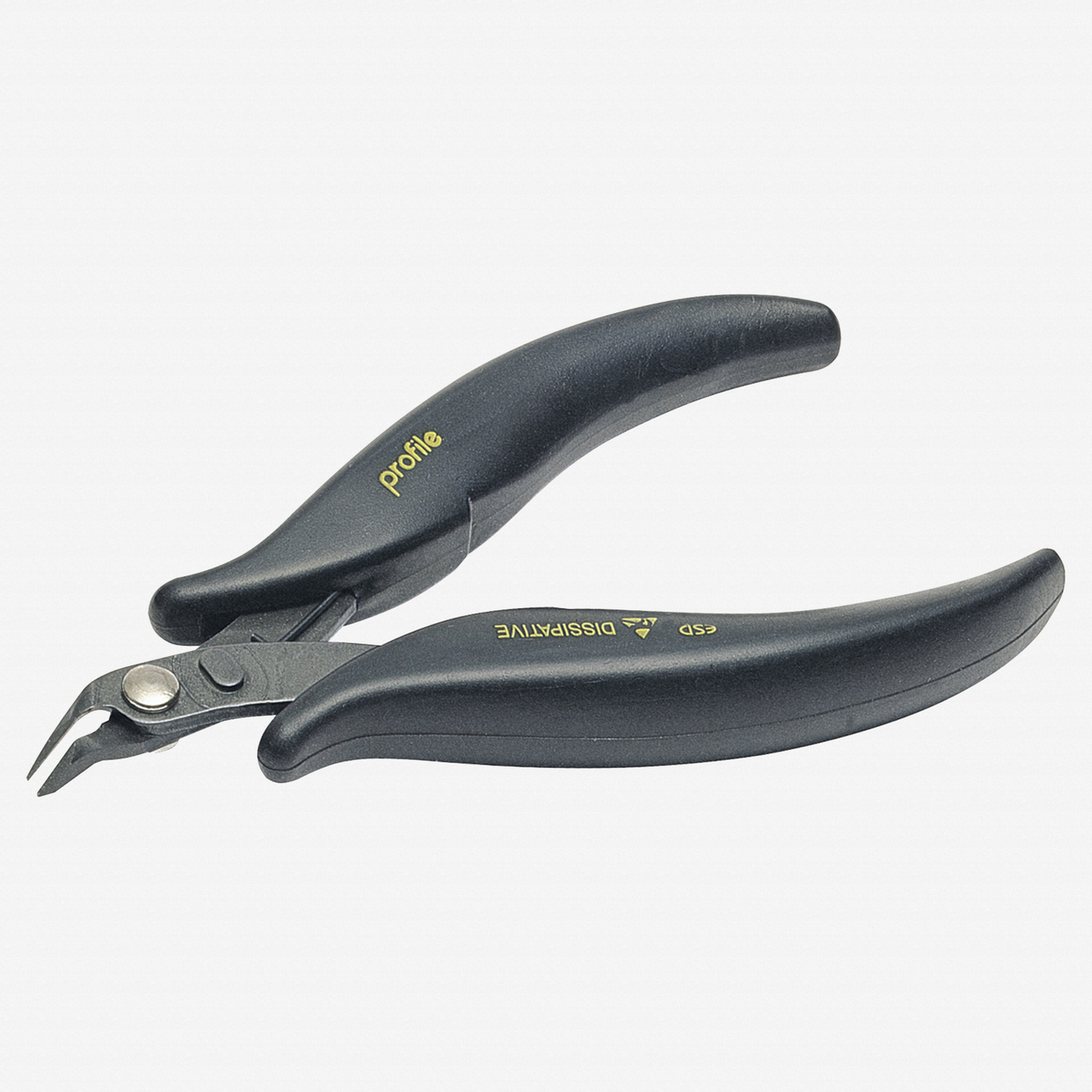"""NWS 2214-ESD-118 4.5"""" Side Cutter ESD  - SoftGripp - KC Tool"""