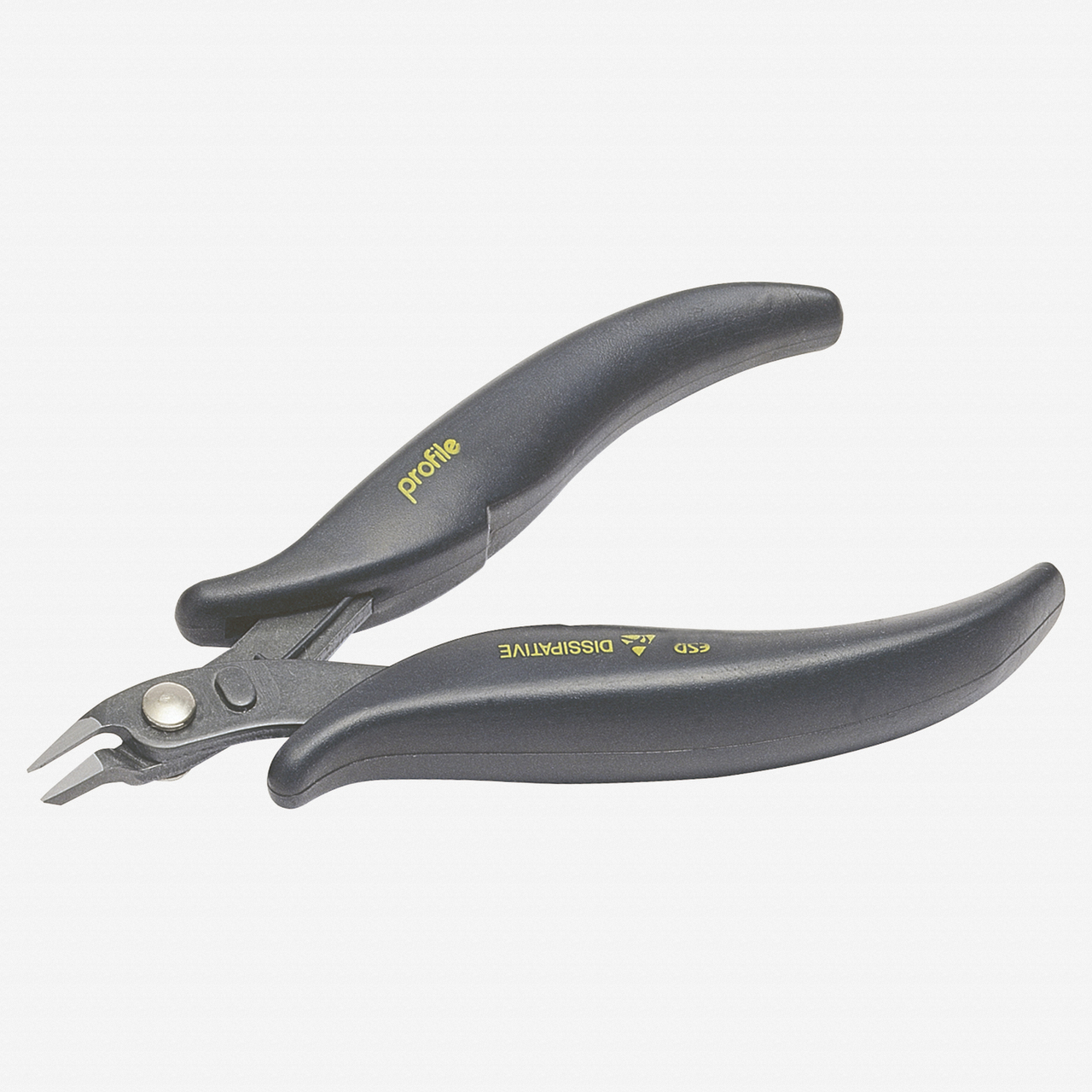 """NWS 2212-ESD-118 4.5"""" Side Cutter ESD  - SoftGripp - KC Tool"""