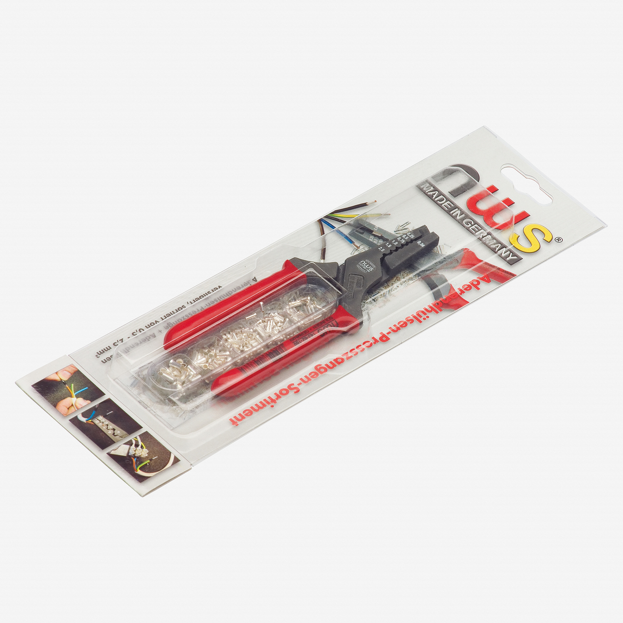 NWS 143-TS Pressing Pliers and End-Sleeves Assortment - KC Tool