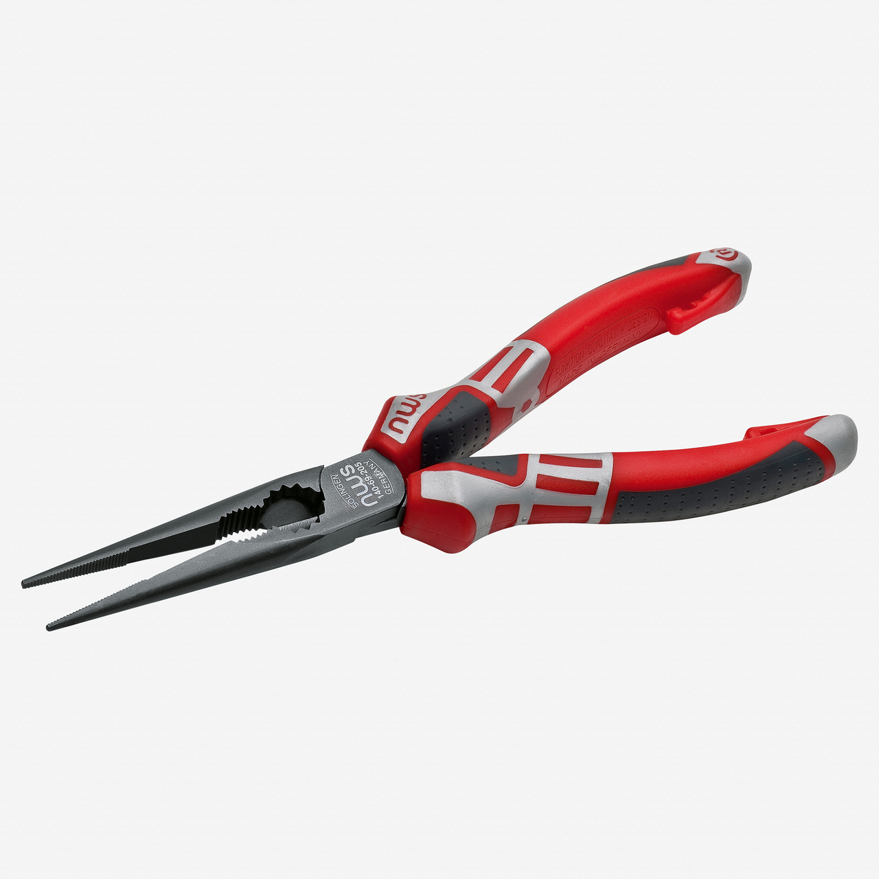 "NWS 140-69-170 6.75"" Chain Nose Pliers (Radio Pliers) - TitanFinish - SoftGripp - KC Tool"