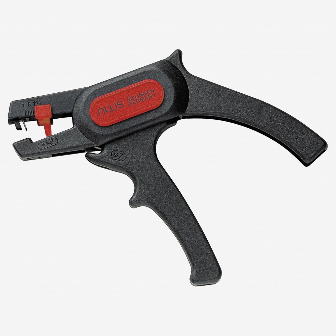 "NWS 704-180 7"" Self-adjusting Stripping Pliers - KC Tool"