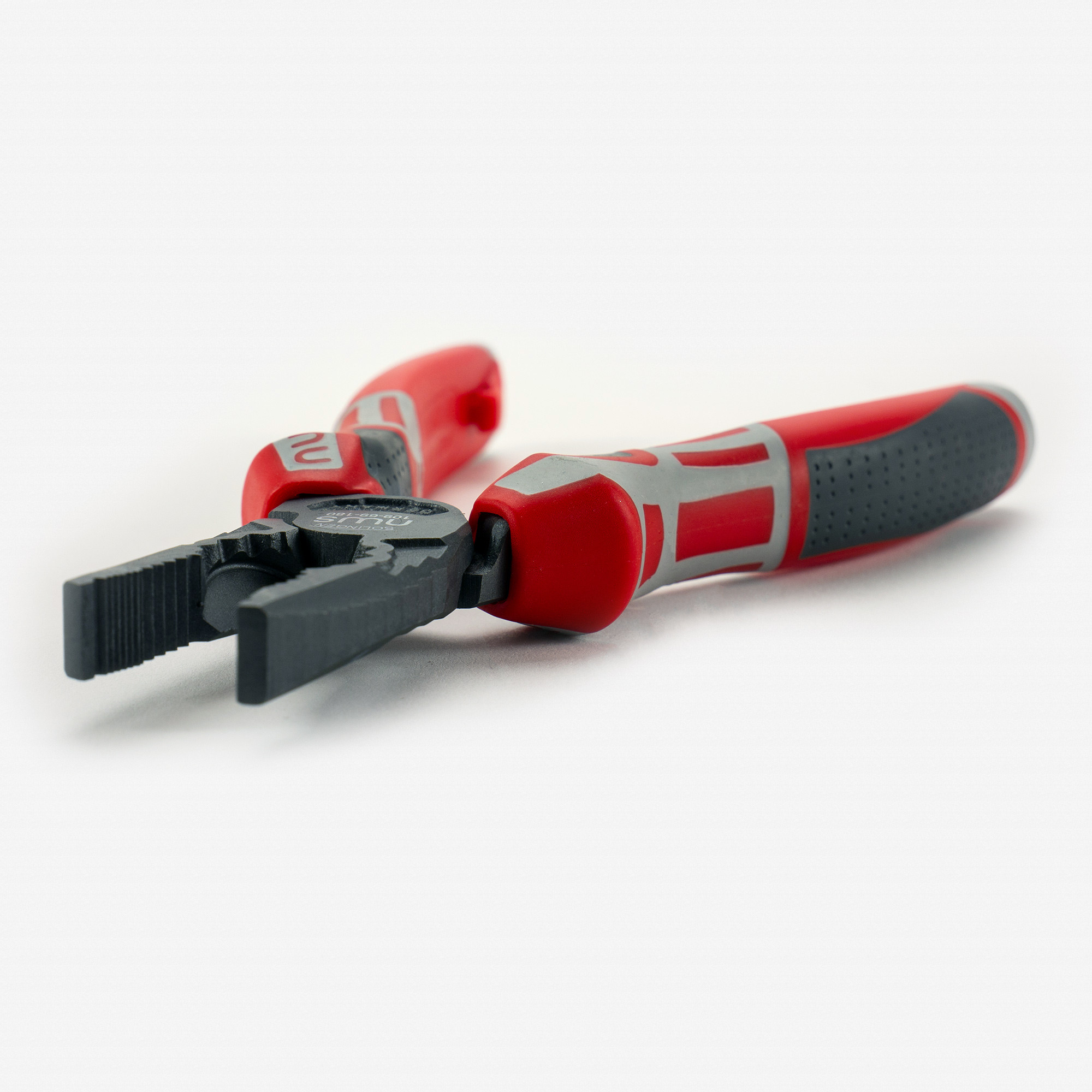 """NWS 109-69-180 7"""" High Leverage Combination Pliers CombiMa - xTitanFinish - SoftGripp - KC Tool"""