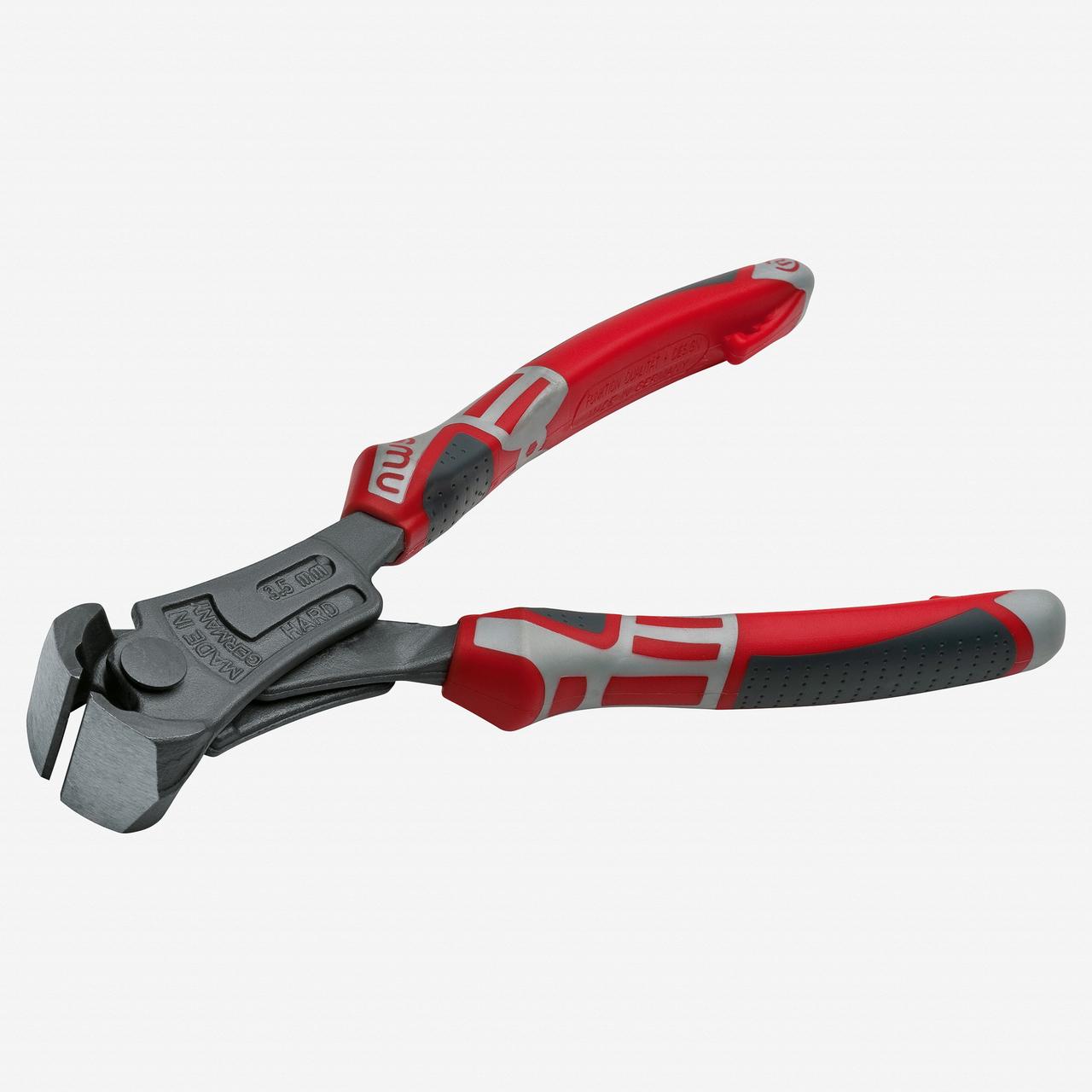 "NWS 1311-69-200 8"" Heavy Duty Lever End Cutting Nipper PowerBolt - TitanFinish - SoftGripp - KC Tool"