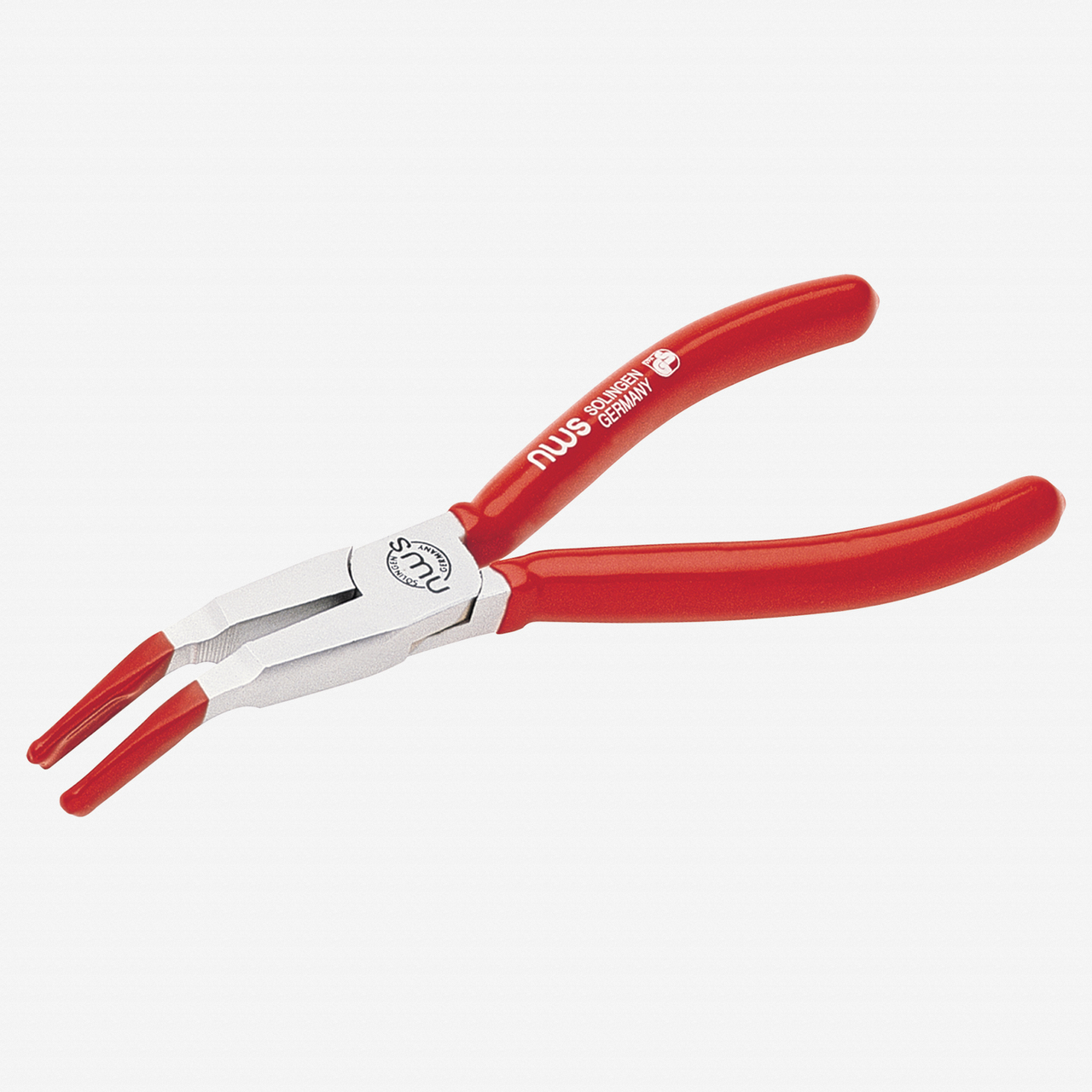 "NWS 487-42-160 6.25"" Pliers for electric light bulbs - Atramentized - Plastic Grip - KC Tool"
