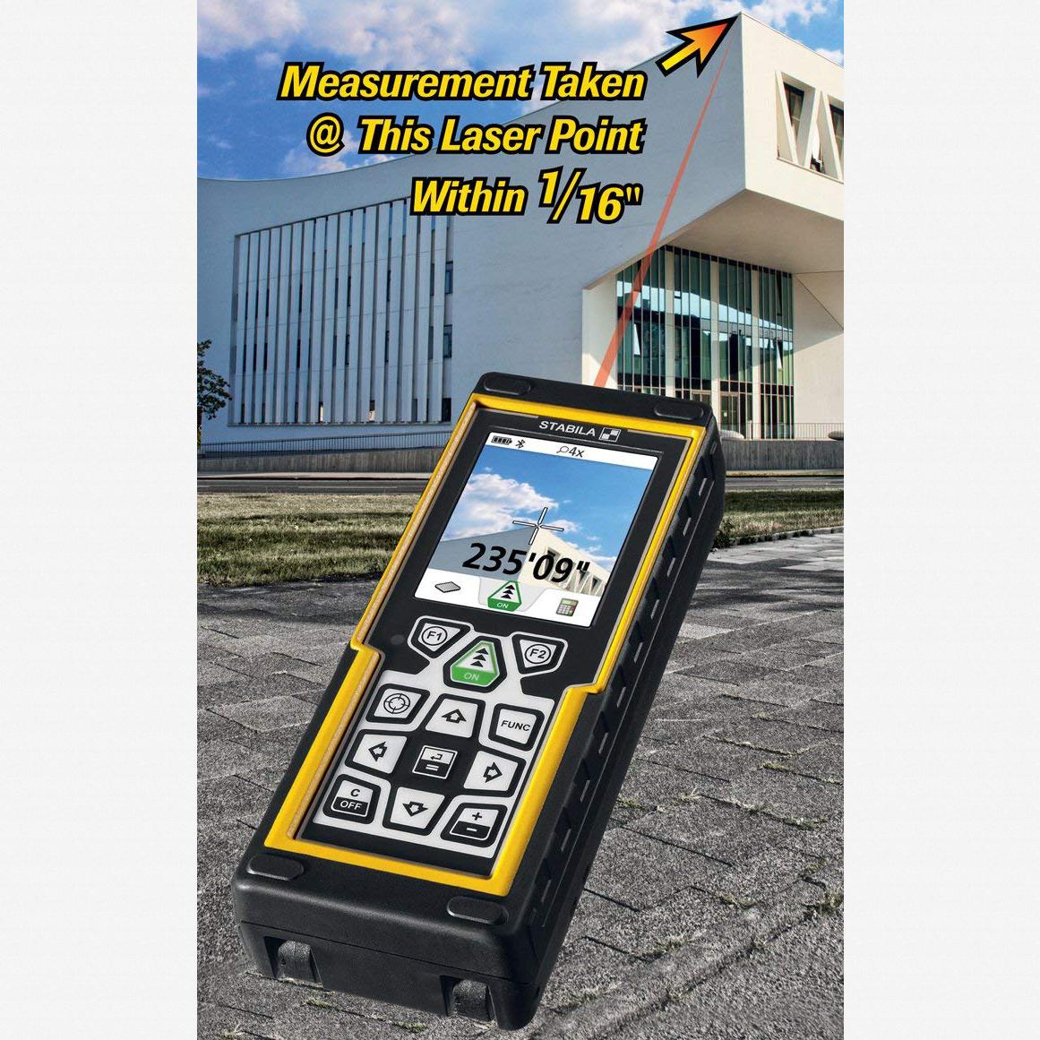 Stabila 06520 LD 520 660FT Video Laser Distance Measurer - KC Tool