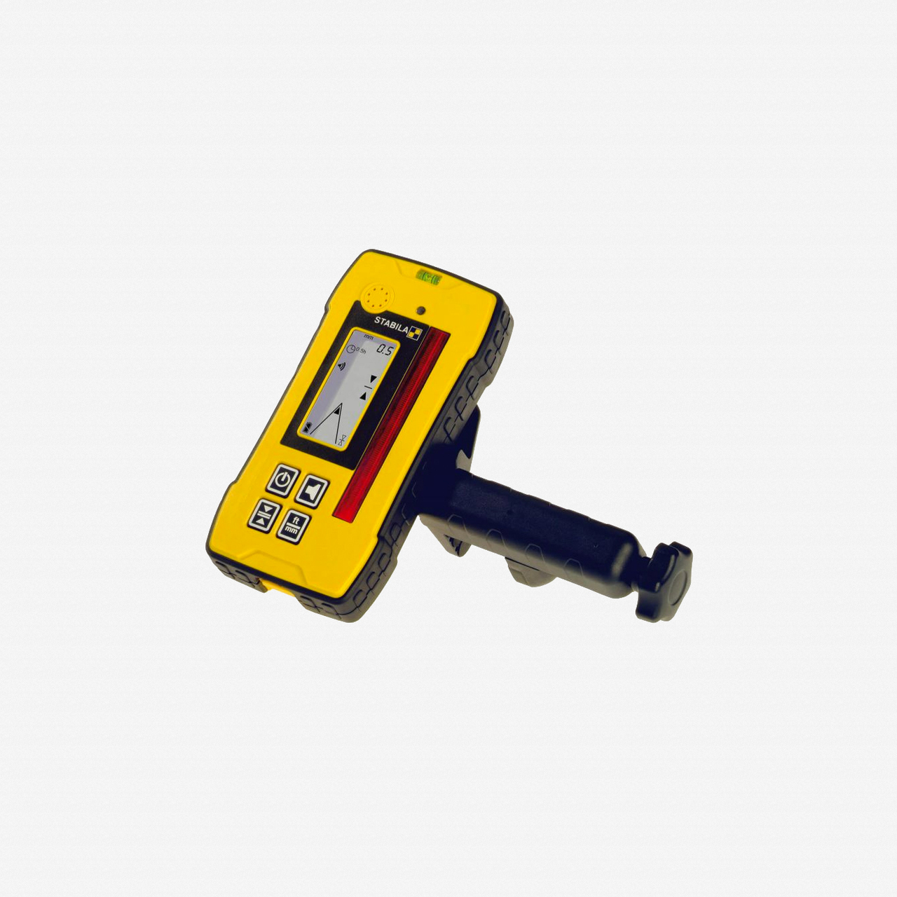 Stabila 07430 REC 300 Digital Rotating Laser Receiver with Bracket - KC Tool