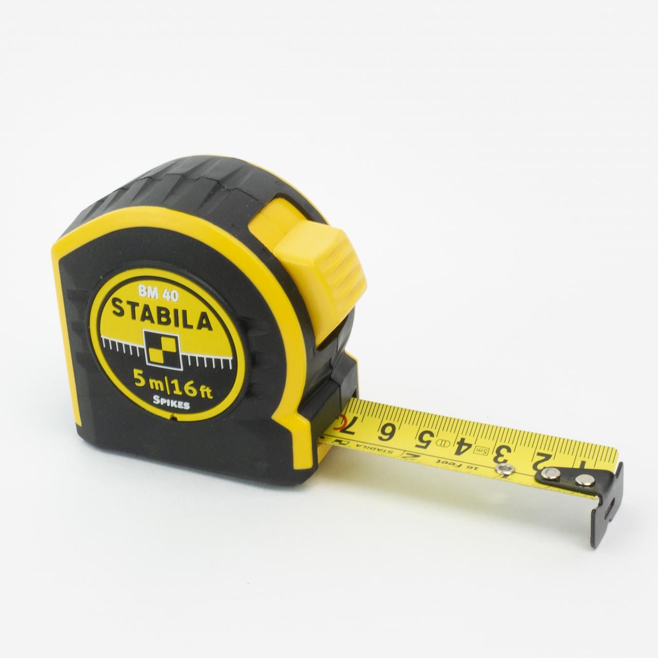 Stabila 30416 Type BM40 Tape Measure, 5m/16' - KC Tool