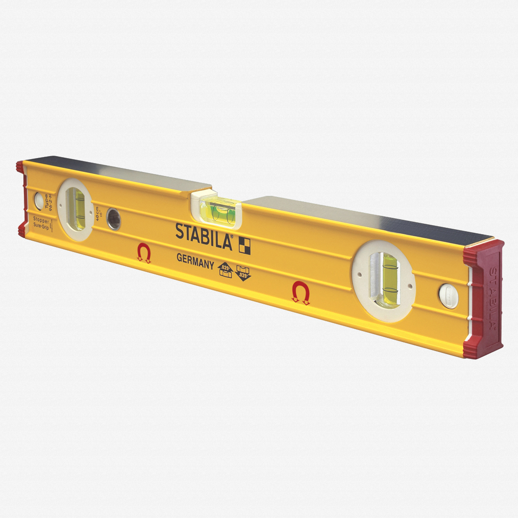 "Stabila 38616 Type 96M Magnetic Level, 16"" - KC Tool"