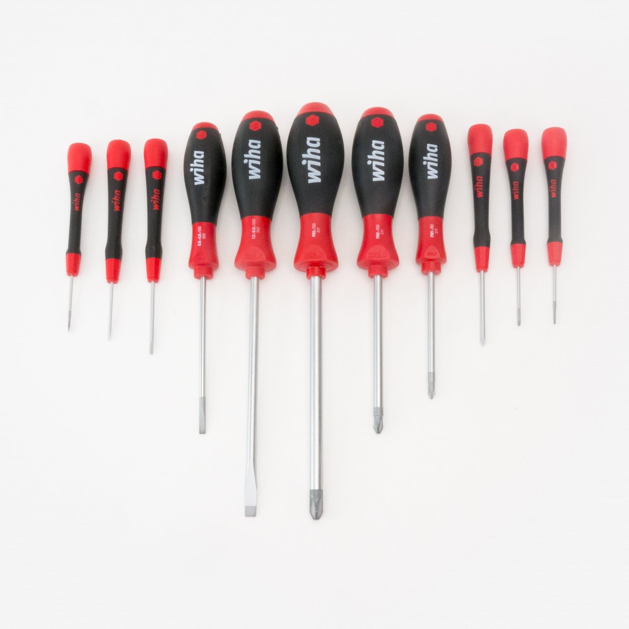Wiha 30293 Master Phillips/Slotted Screwdriver Set, 11 Pieces - KC Tool
