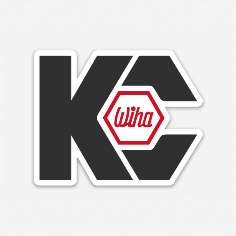 KC Tool x Wiha Sticker - KC Tool