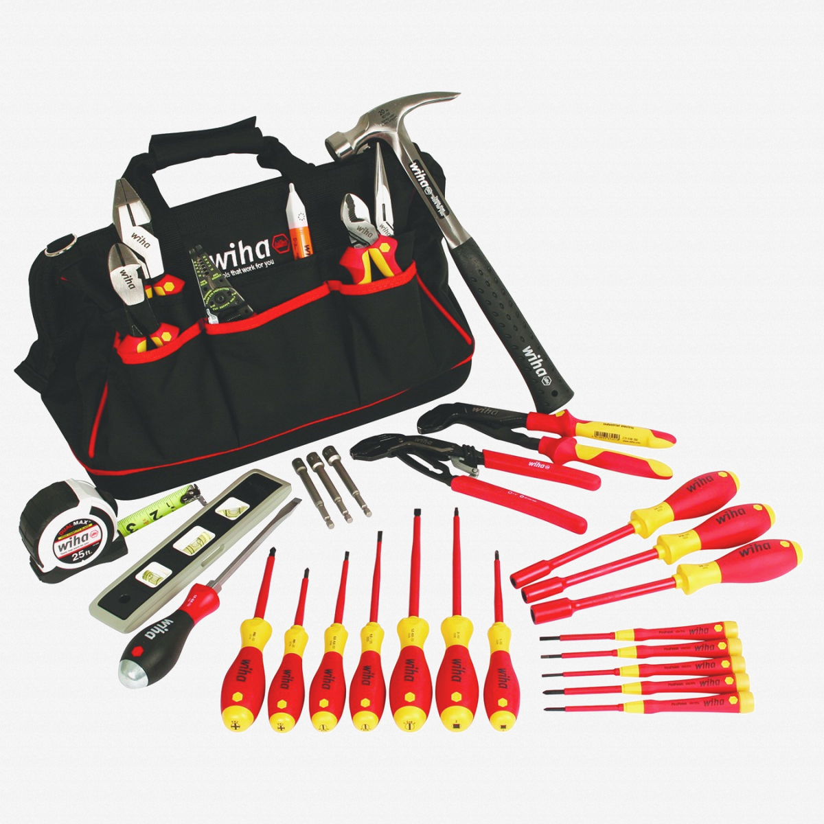 Wiha 32935 Journeyman's Tool Set, 30 pcs - KC Tool