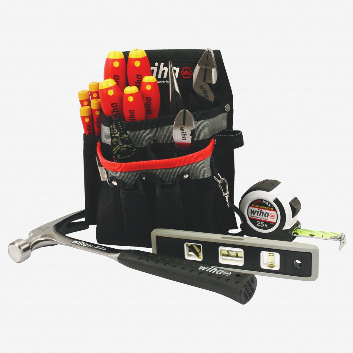 Wiha 32934 Electrician's Apprentice Tool Set, 16 pcs - KC Tool