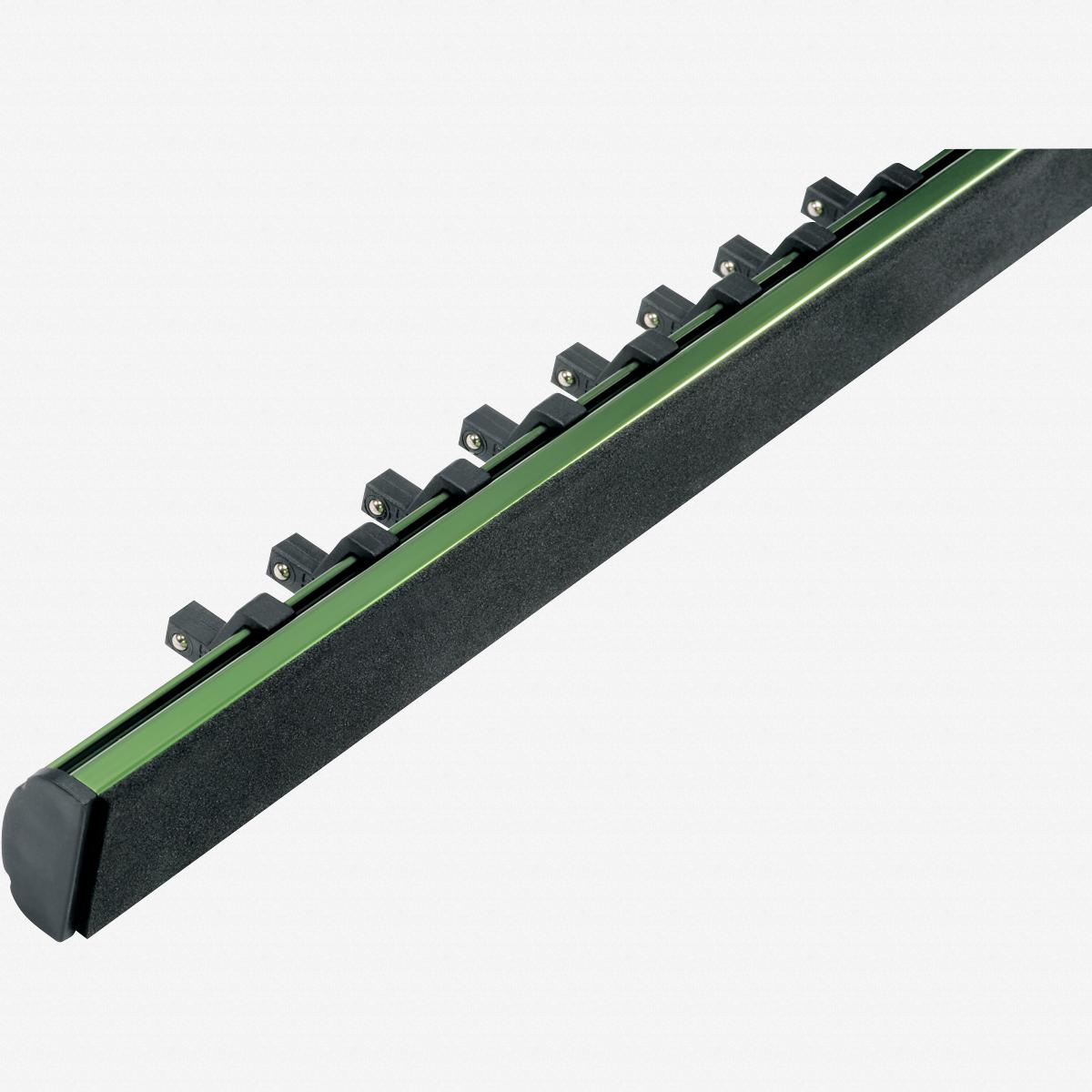 "Heyco 0507900 Metric Socket Set on Aluminum Rail - 1/2"" Drive - KC Tool"