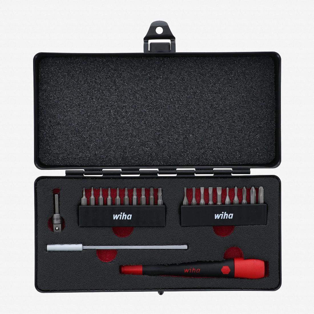 Wiha 75973 PicoFinish MicroBit Set, 23 Pieces - KC Tool
