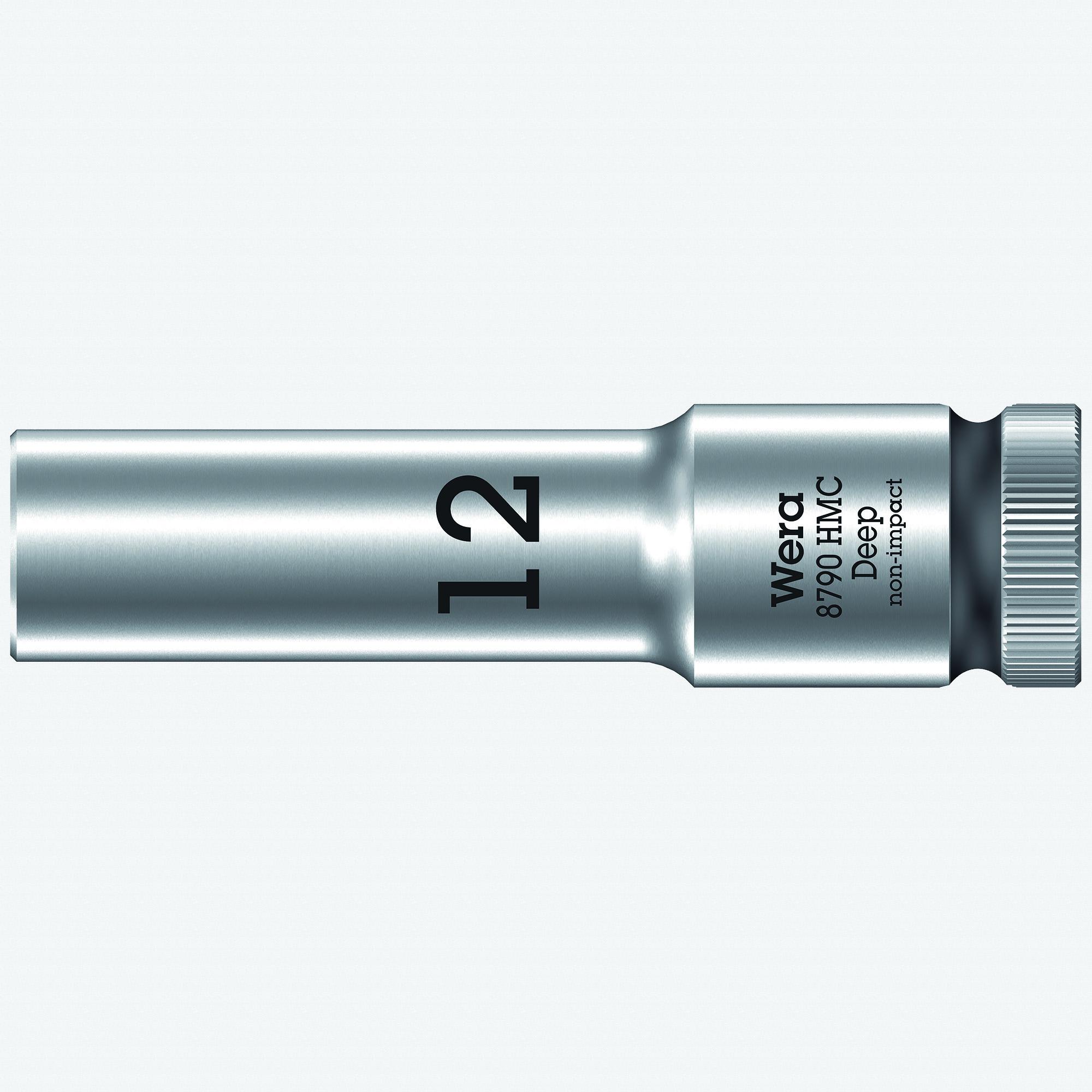 "Wera 004552 Deep Socket, 12 x 1/2"" - KC Tool"