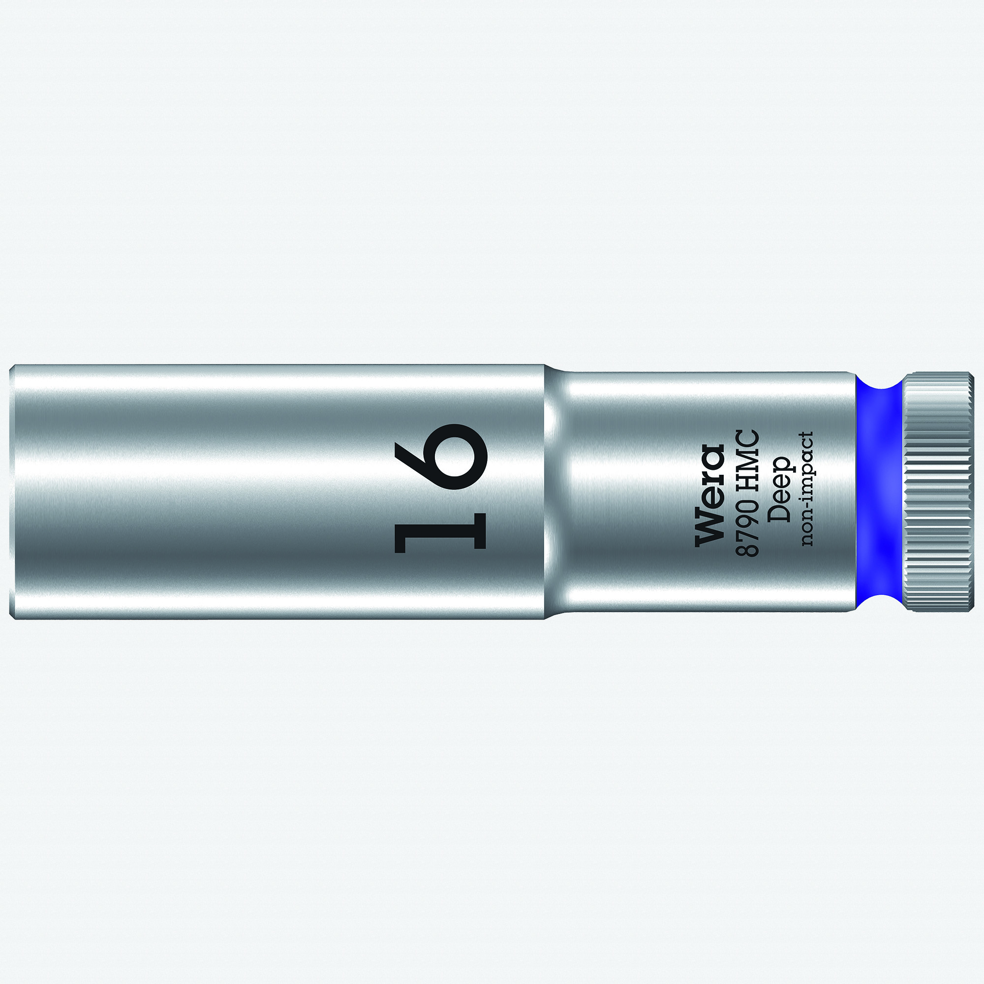 "Wera 004556 Deep Socket, 16 x 1/2"" - KC Tool"