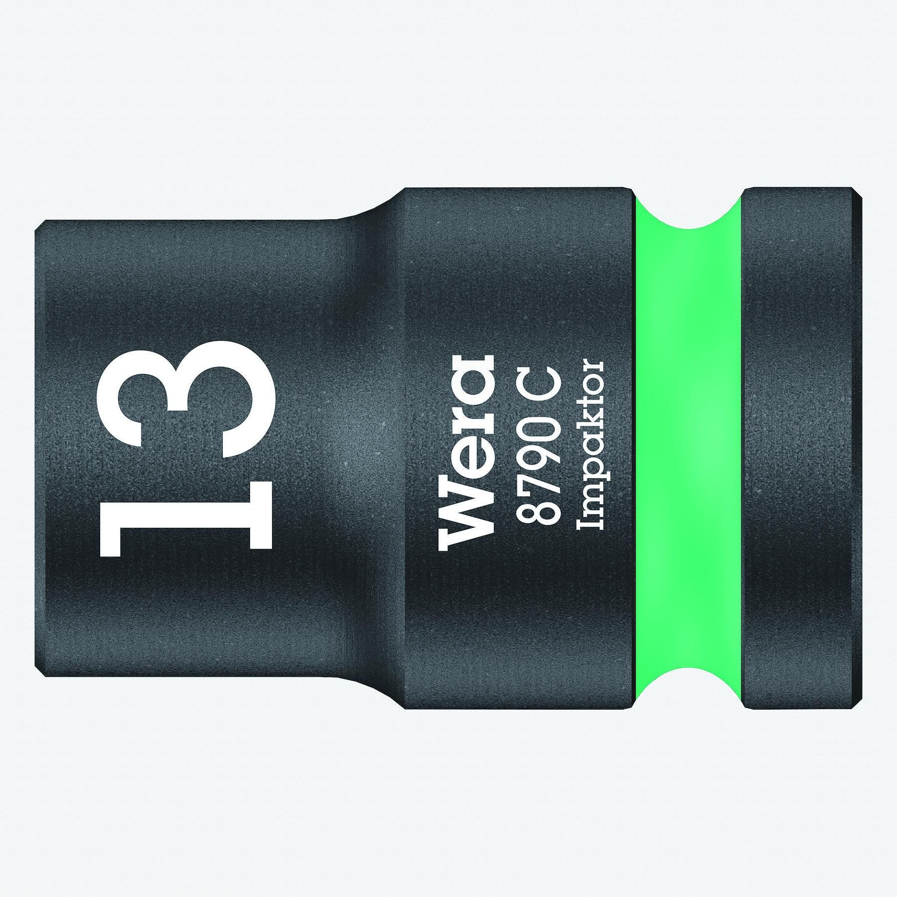 """Wera 004570 Impact Socket, 13 x 1/2"""" - KC Tool"""