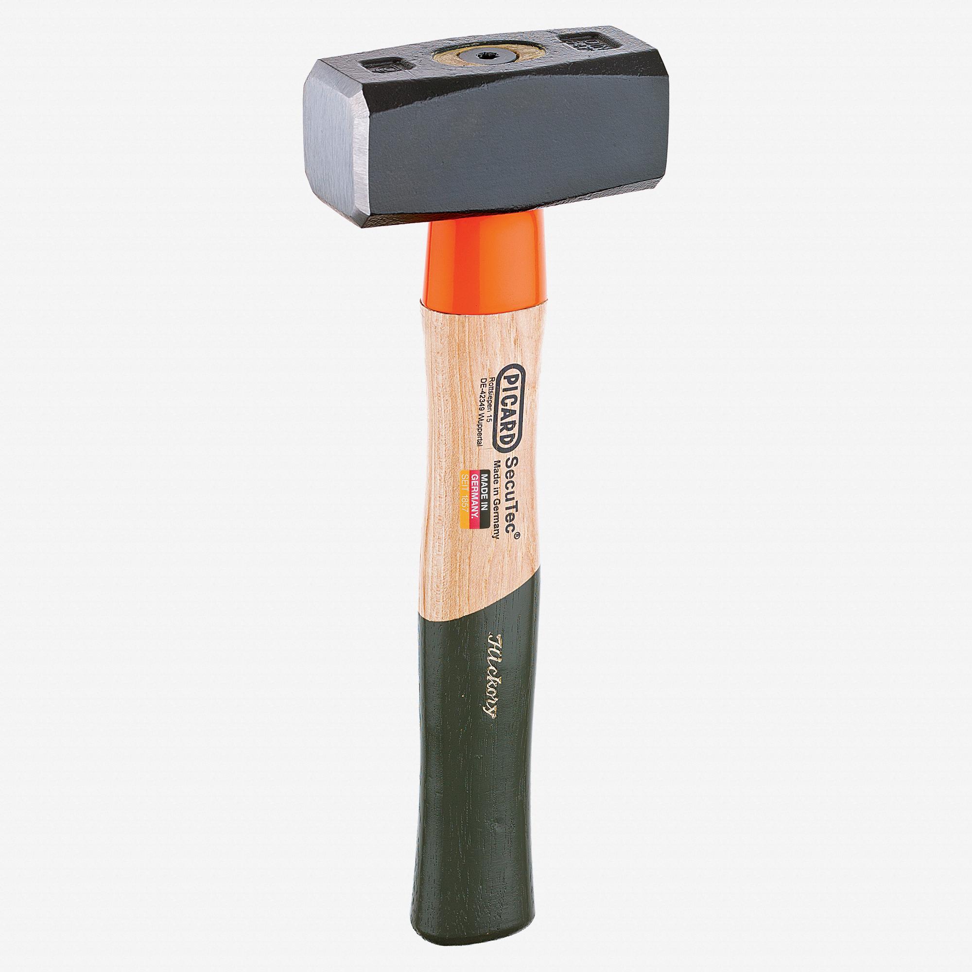 Picard 2.75 lb SecuTec Mining Sledge, hardened handle protection - KC Tool