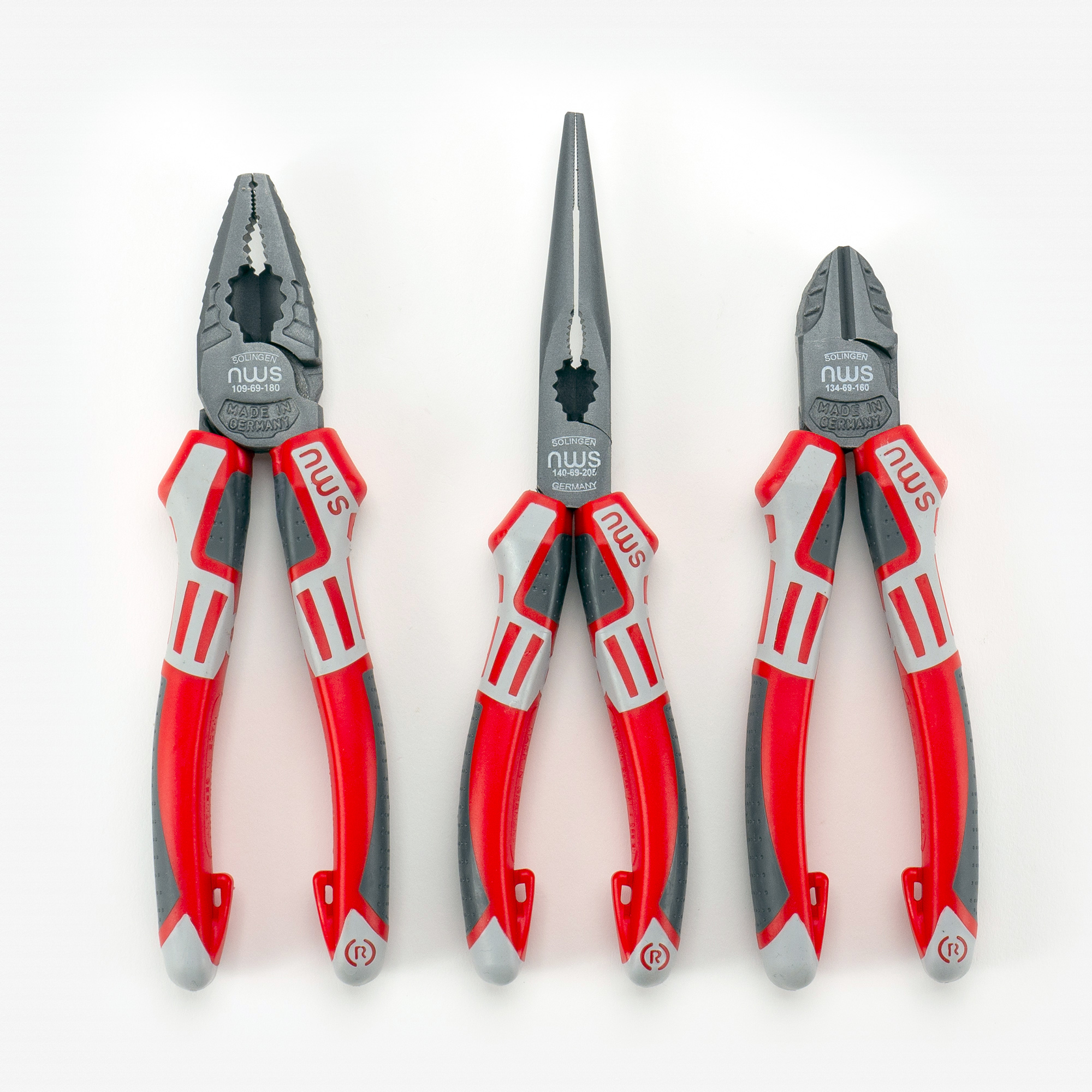 NWS 775 Pliers and Cutters Set, 3 Pieces - KC Tool