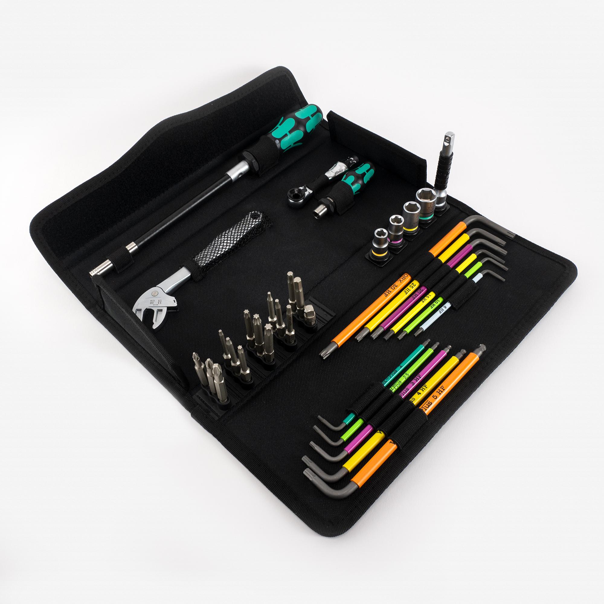 Wera 134013 Kraftform Kompakt F 1 Tool Set for Window Installation, 35 Pieces - KC Tool