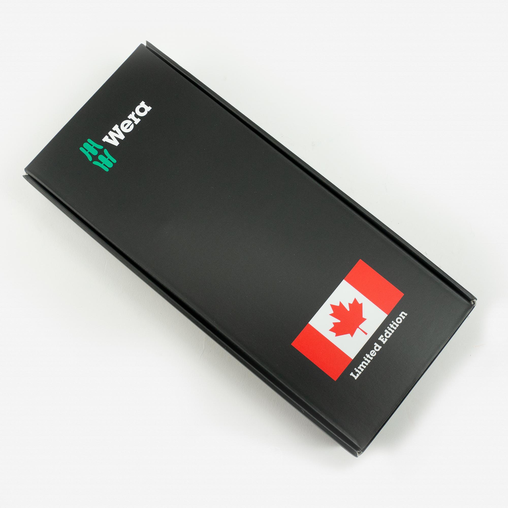 Wera 300052 Kraftform Canada Bottle Opener Set - Square, Limited Edition - KC Tool