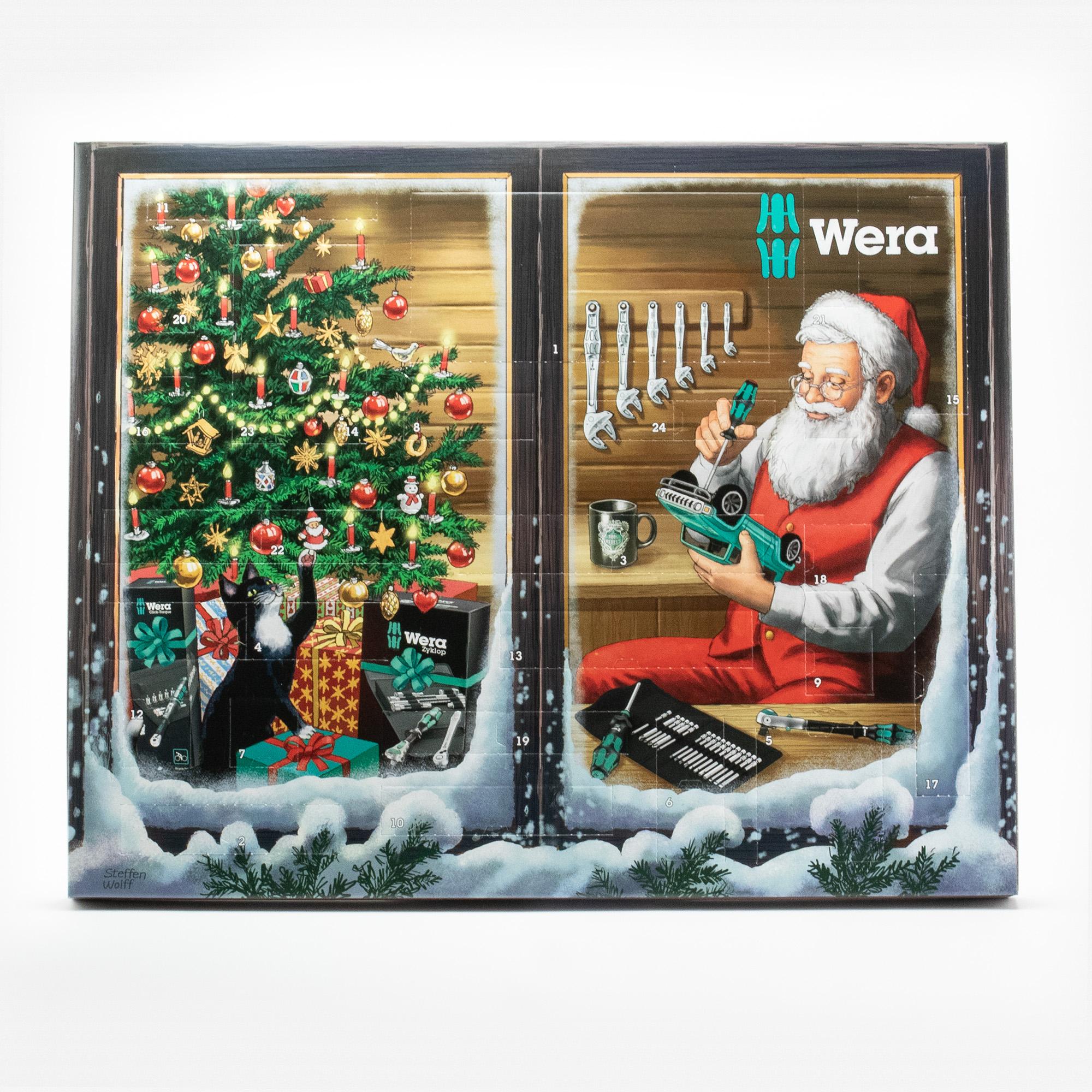 Wera 136602 Advent Calendar 2021 - KC Tool