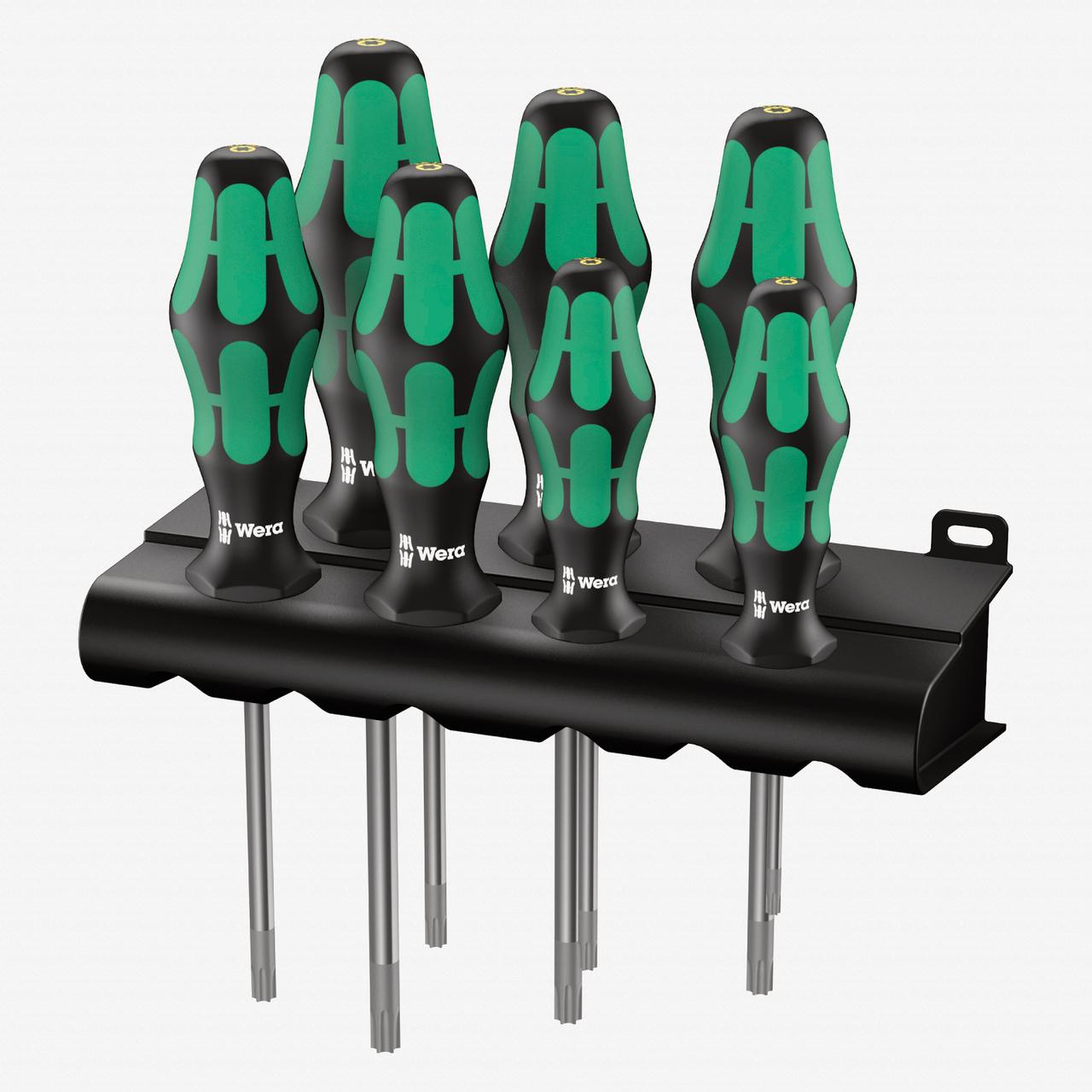 Wera 223161 Kraftform Plus Torx HF Screwdriver Set + Rack - KC Tool