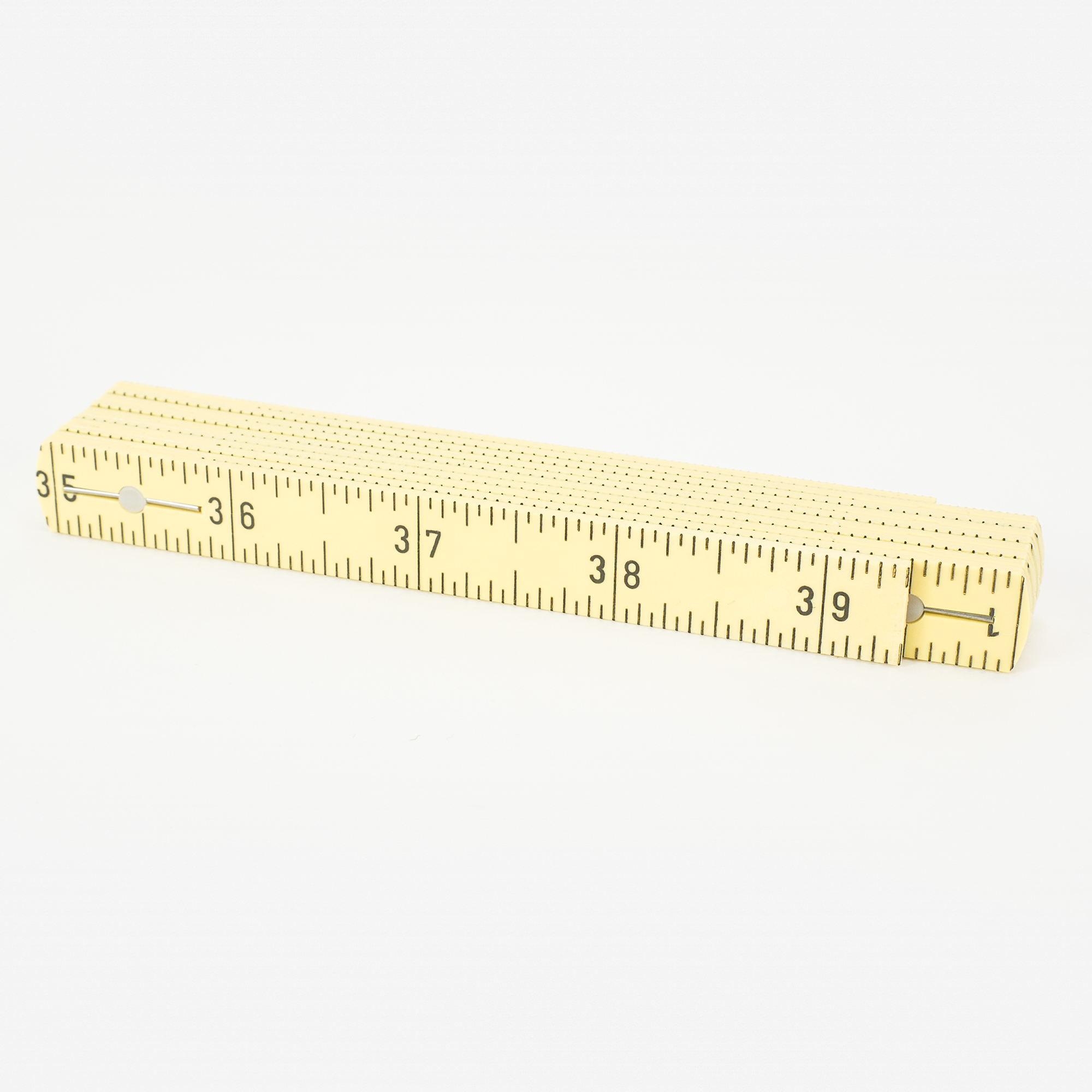 "Wiha 61601 MaxiFlex 39"" Folding Ruler Inside Reading - KC Tool"